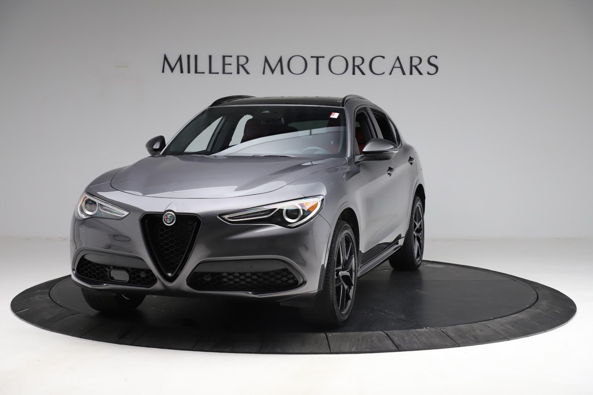 New 2021 Alfa Romeo Stelvio Ti Sport Q4 for sale $56,150 at Maserati of Greenwich in Greenwich CT 06830 1