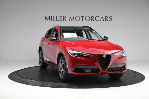 New 2021 Alfa Romeo Stelvio Q4 for sale $50,535 at Maserati of Greenwich in Greenwich CT 06830 12