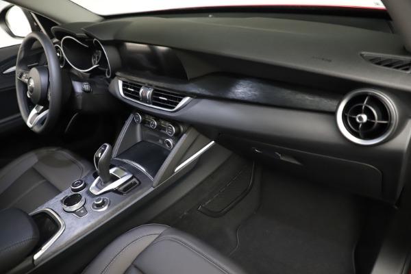 New 2021 Alfa Romeo Stelvio Q4 for sale $50,535 at Maserati of Greenwich in Greenwich CT 06830 21