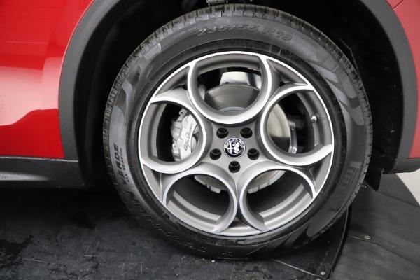 New 2021 Alfa Romeo Stelvio Q4 for sale $50,535 at Maserati of Greenwich in Greenwich CT 06830 28