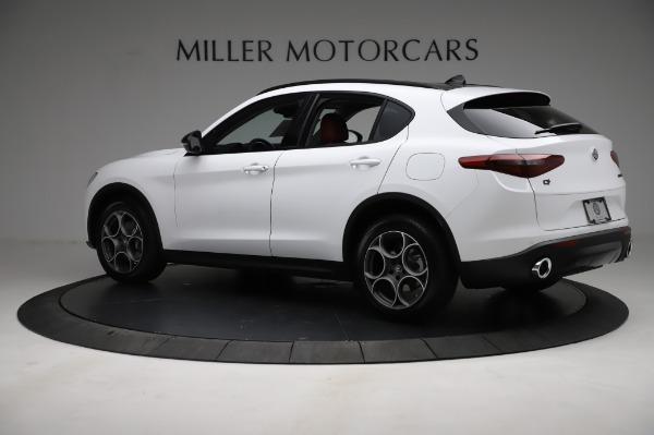 New 2021 Alfa Romeo Stelvio Q4 for sale Sold at Maserati of Greenwich in Greenwich CT 06830 4