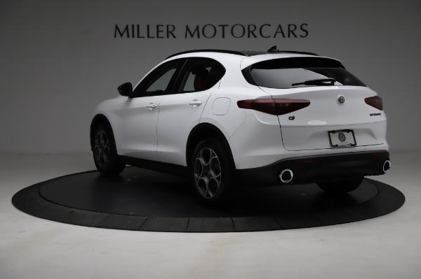 New 2021 Alfa Romeo Stelvio Q4 for sale Sold at Maserati of Greenwich in Greenwich CT 06830 5