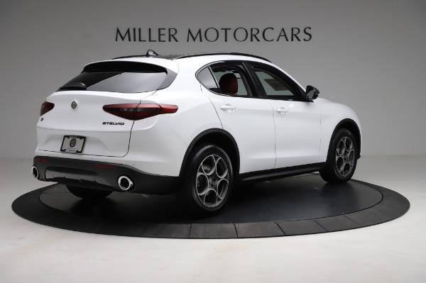 New 2021 Alfa Romeo Stelvio Q4 for sale Sold at Maserati of Greenwich in Greenwich CT 06830 7