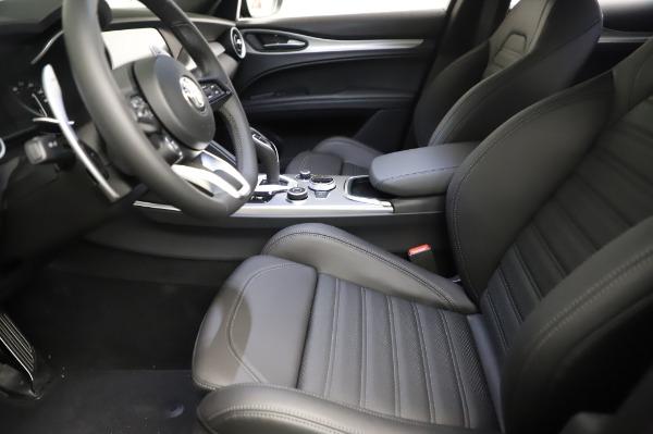 New 2021 Alfa Romeo Stelvio Ti Sport Q4 for sale $57,595 at Maserati of Greenwich in Greenwich CT 06830 14