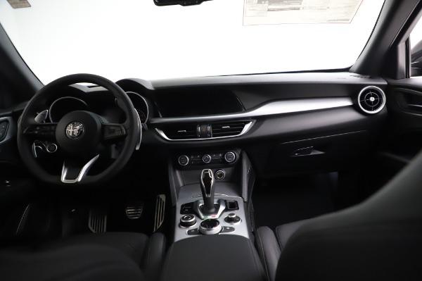New 2021 Alfa Romeo Stelvio Ti Sport Q4 for sale $57,595 at Maserati of Greenwich in Greenwich CT 06830 16