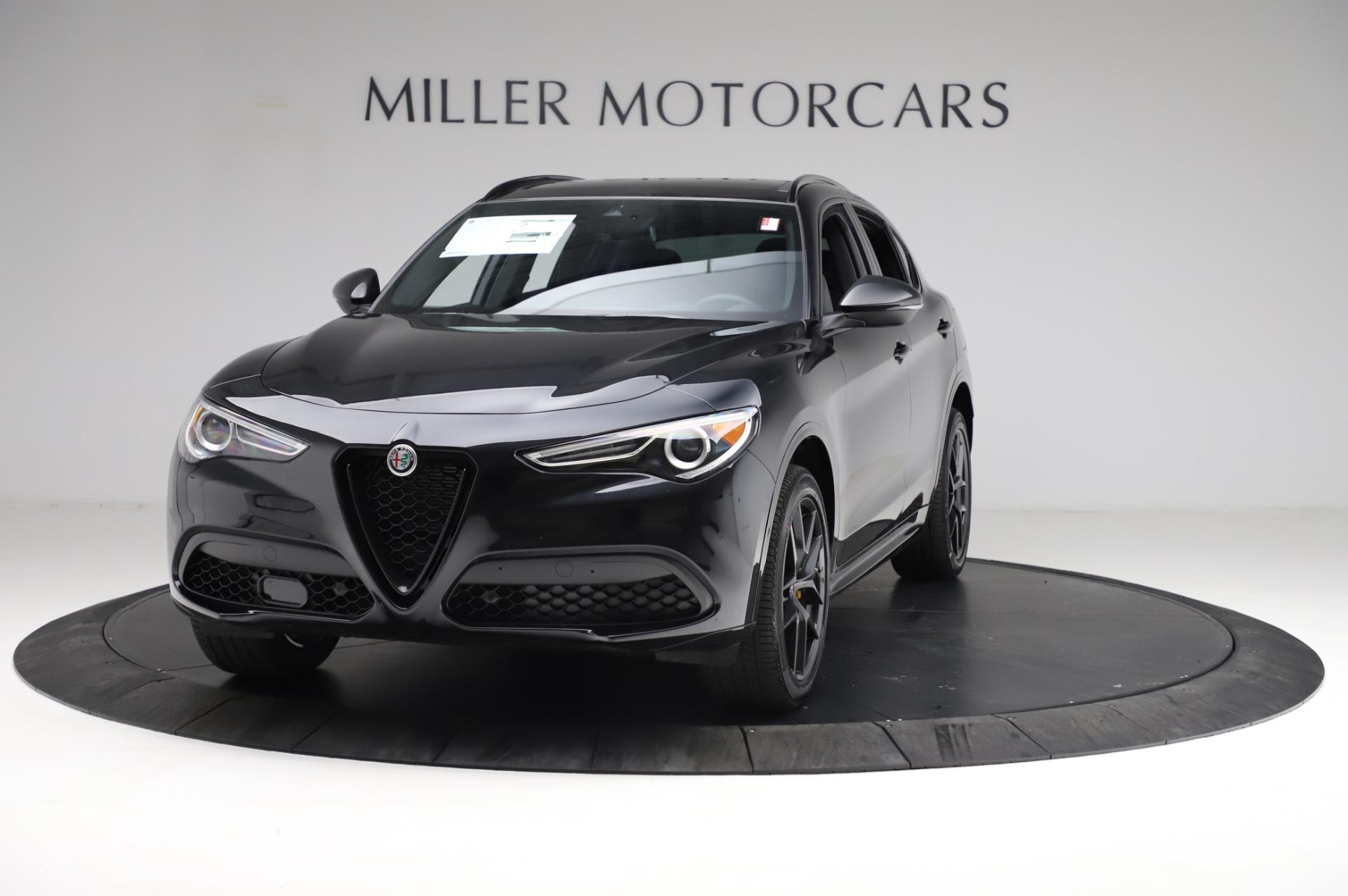 New 2021 Alfa Romeo Stelvio Ti Sport Q4 for sale $57,595 at Maserati of Greenwich in Greenwich CT 06830 1