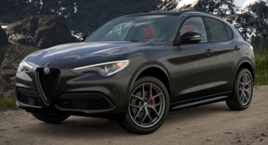 New 2021 Alfa Romeo Stelvio Ti Sport for sale $55,950 at Maserati of Greenwich in Greenwich CT 06830 1