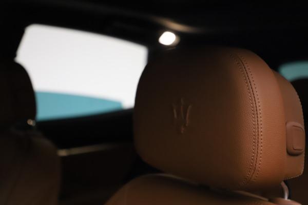 New 2021 Maserati Levante S Q4 for sale $98,925 at Maserati of Greenwich in Greenwich CT 06830 16