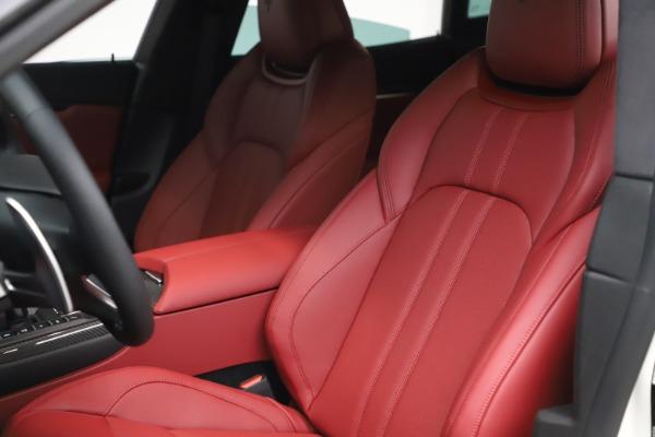 New 2021 Maserati Levante S Q4 GranSport for sale $105,835 at Maserati of Greenwich in Greenwich CT 06830 16