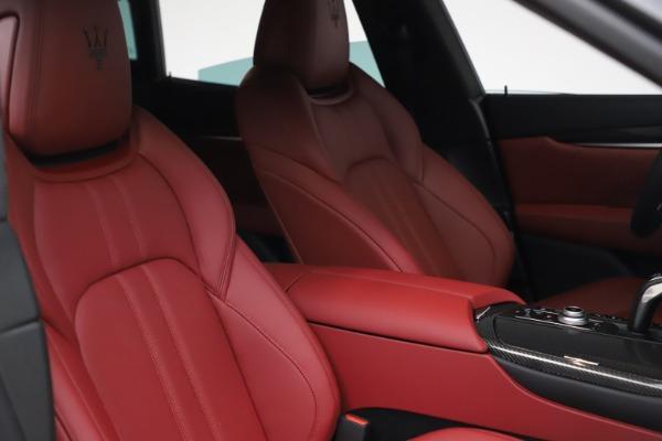 New 2021 Maserati Levante S Q4 GranSport for sale $105,835 at Maserati of Greenwich in Greenwich CT 06830 19