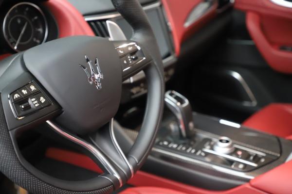 New 2021 Maserati Levante S Q4 GranSport for sale $105,835 at Maserati of Greenwich in Greenwich CT 06830 21
