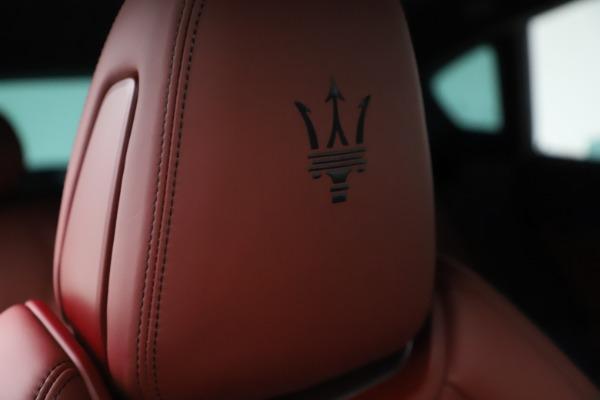 New 2021 Maserati Levante S Q4 GranSport for sale $105,835 at Maserati of Greenwich in Greenwich CT 06830 23