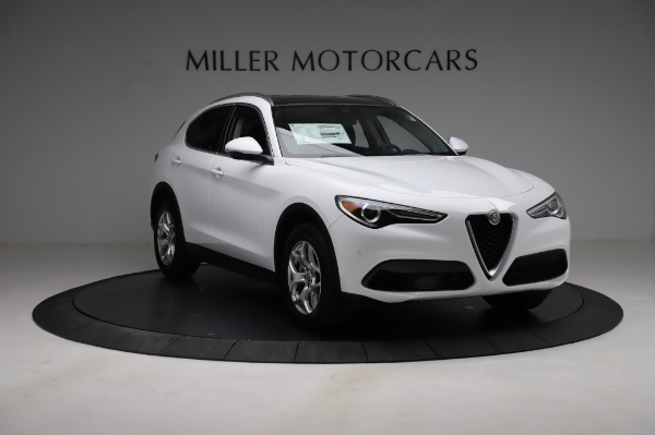 New 2021 Alfa Romeo Stelvio Q4 for sale $49,785 at Maserati of Greenwich in Greenwich CT 06830 12