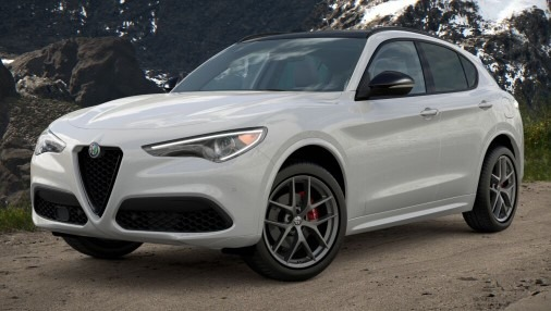 New 2021 Alfa Romeo Stelvio Ti Sport Q4 for sale $56,040 at Maserati of Greenwich in Greenwich CT 06830 1