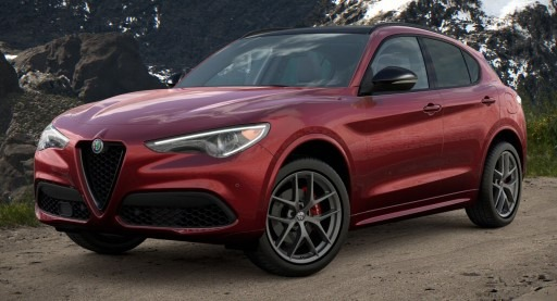 New 2021 Alfa Romeo Stelvio Ti Sport Q4 for sale $61,340 at Maserati of Greenwich in Greenwich CT 06830 1