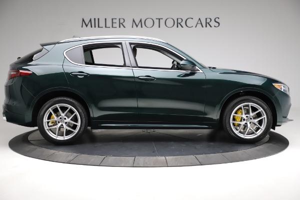 New 2021 Alfa Romeo Stelvio Ti Q4 for sale $54,000 at Maserati of Greenwich in Greenwich CT 06830 10
