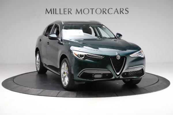 New 2021 Alfa Romeo Stelvio Ti Q4 for sale $54,000 at Maserati of Greenwich in Greenwich CT 06830 12