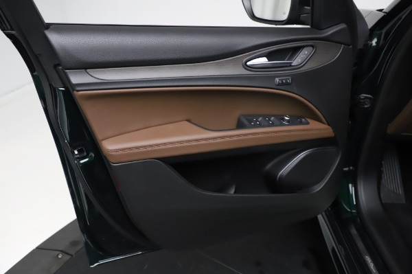 New 2021 Alfa Romeo Stelvio Ti Q4 for sale $54,000 at Maserati of Greenwich in Greenwich CT 06830 18