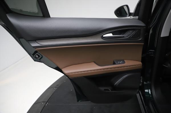 New 2021 Alfa Romeo Stelvio Ti Q4 for sale $54,000 at Maserati of Greenwich in Greenwich CT 06830 21