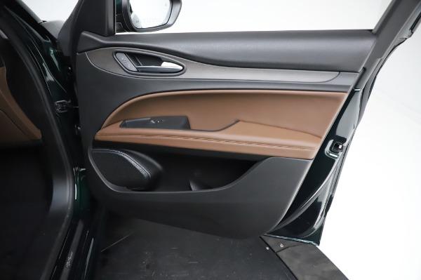 New 2021 Alfa Romeo Stelvio Ti Q4 for sale $54,000 at Maserati of Greenwich in Greenwich CT 06830 24