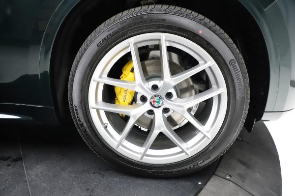New 2021 Alfa Romeo Stelvio Ti Q4 for sale $54,000 at Maserati of Greenwich in Greenwich CT 06830 27