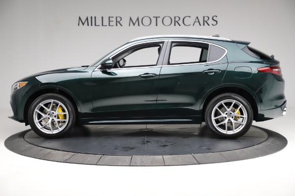 New 2021 Alfa Romeo Stelvio Ti Q4 for sale $54,000 at Maserati of Greenwich in Greenwich CT 06830 3