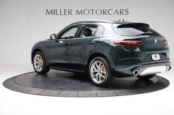 New 2021 Alfa Romeo Stelvio Ti Q4 for sale $54,000 at Maserati of Greenwich in Greenwich CT 06830 4