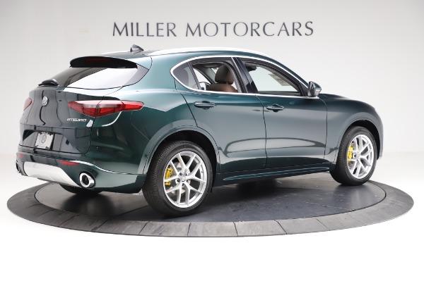 New 2021 Alfa Romeo Stelvio Ti Q4 for sale $54,000 at Maserati of Greenwich in Greenwich CT 06830 8