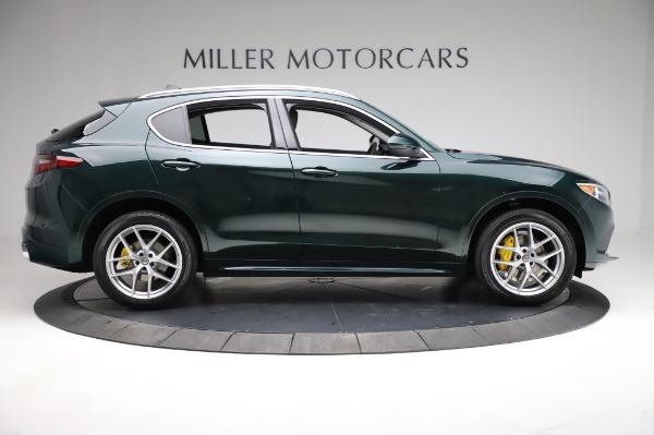 New 2021 Alfa Romeo Stelvio Ti Q4 for sale $54,000 at Maserati of Greenwich in Greenwich CT 06830 9