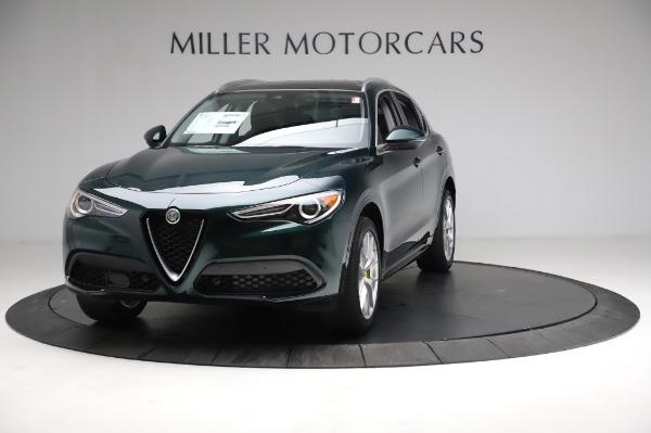 New 2021 Alfa Romeo Stelvio Ti Q4 for sale $53,800 at Maserati of Greenwich in Greenwich CT 06830 1