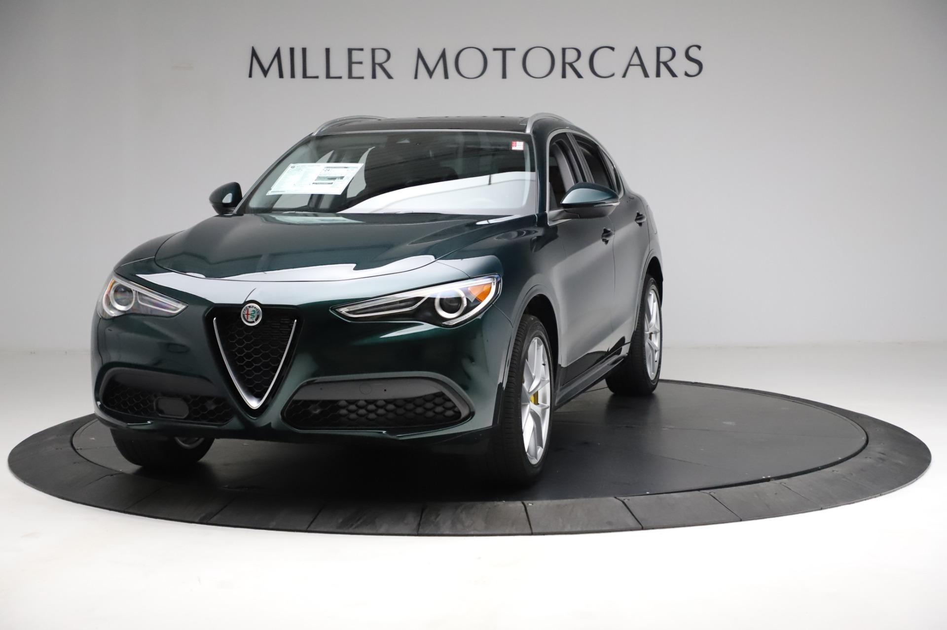 New 2021 Alfa Romeo Stelvio Ti Q4 for sale $54,000 at Maserati of Greenwich in Greenwich CT 06830 1