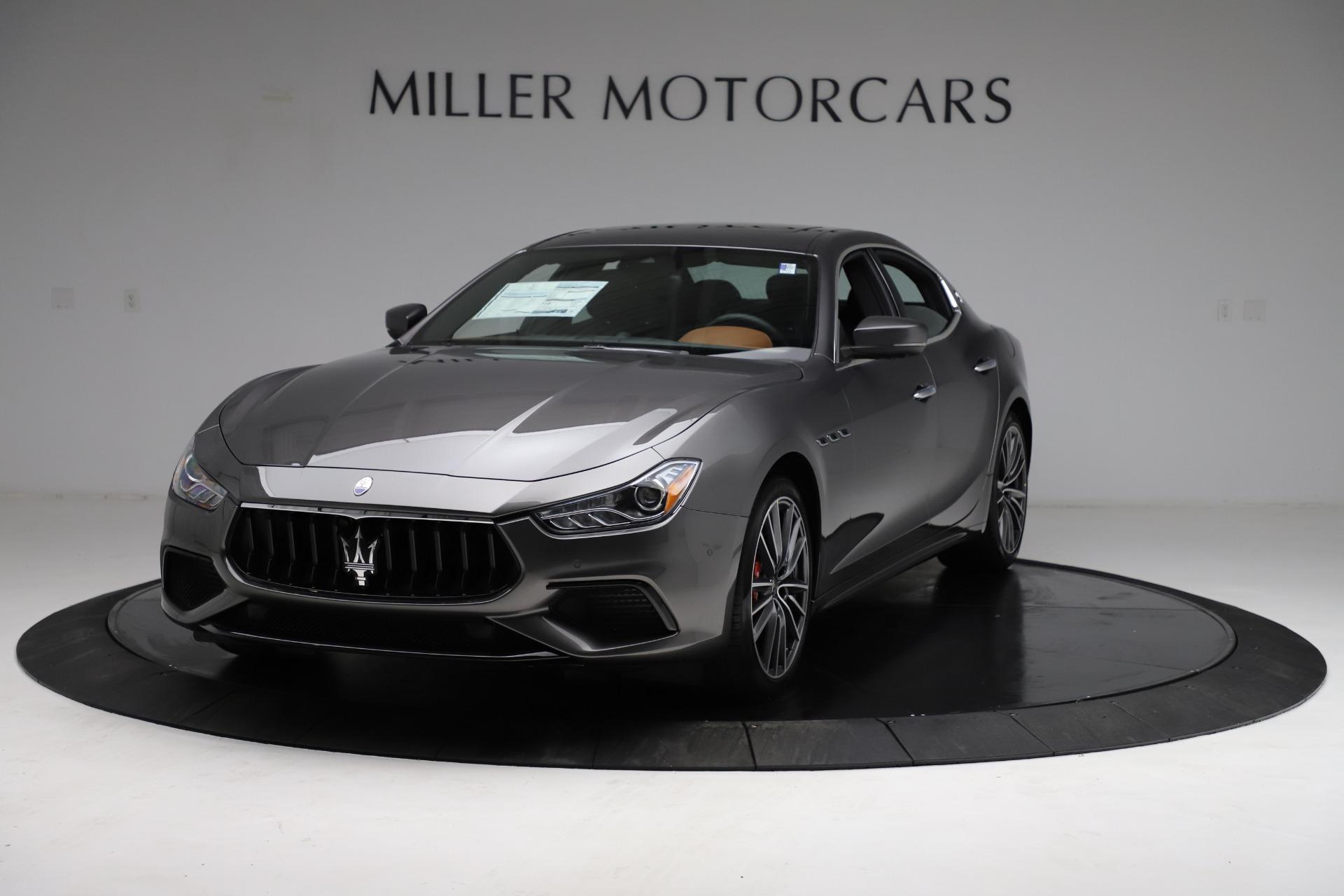 New 2021 Maserati Ghibli S Q4 for sale $90,525 at Maserati of Greenwich in Greenwich CT 06830 1