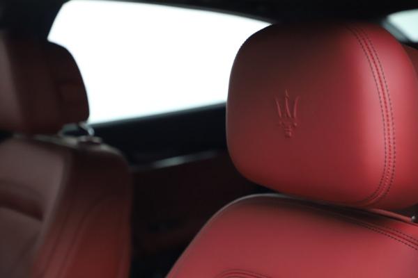 New 2021 Maserati Quattroporte S Q4 GranLusso for sale $122,349 at Maserati of Greenwich in Greenwich CT 06830 15