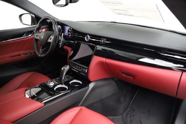 New 2021 Maserati Quattroporte S Q4 GranLusso for sale $122,349 at Maserati of Greenwich in Greenwich CT 06830 24
