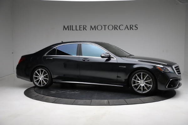Used 2019 Mercedes-Benz S-Class AMG S 63 for sale $122,900 at Maserati of Greenwich in Greenwich CT 06830 16
