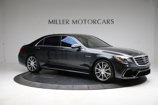 Used 2019 Mercedes-Benz S-Class AMG S 63 for sale $122,900 at Maserati of Greenwich in Greenwich CT 06830 18