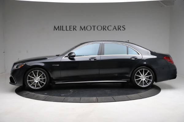 Used 2019 Mercedes-Benz S-Class AMG S 63 for sale $122,900 at Maserati of Greenwich in Greenwich CT 06830 4