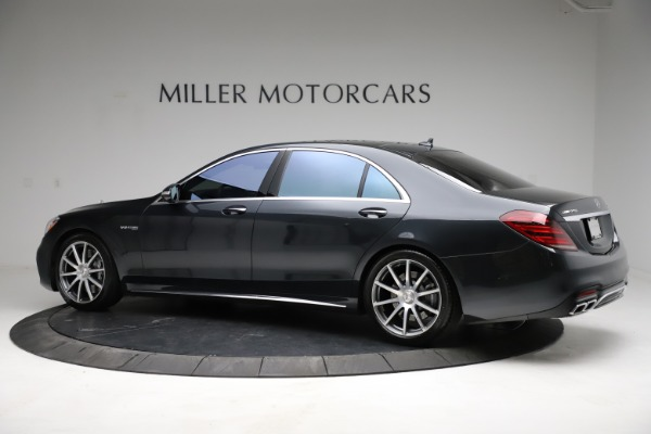 Used 2019 Mercedes-Benz S-Class AMG S 63 for sale $122,900 at Maserati of Greenwich in Greenwich CT 06830 6
