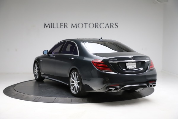 Used 2019 Mercedes-Benz S-Class AMG S 63 for sale $122,900 at Maserati of Greenwich in Greenwich CT 06830 8