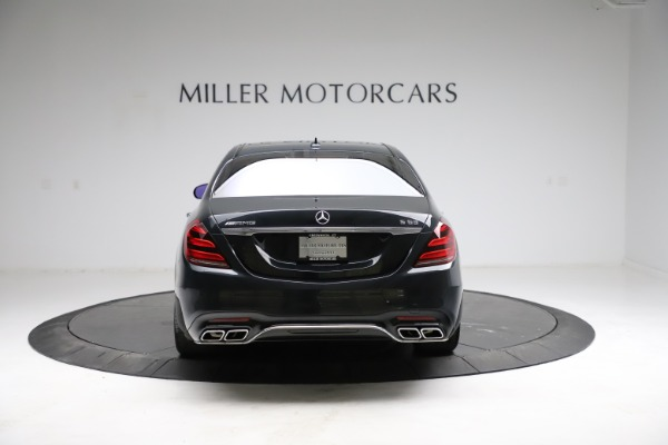 Used 2019 Mercedes-Benz S-Class AMG S 63 for sale $122,900 at Maserati of Greenwich in Greenwich CT 06830 9