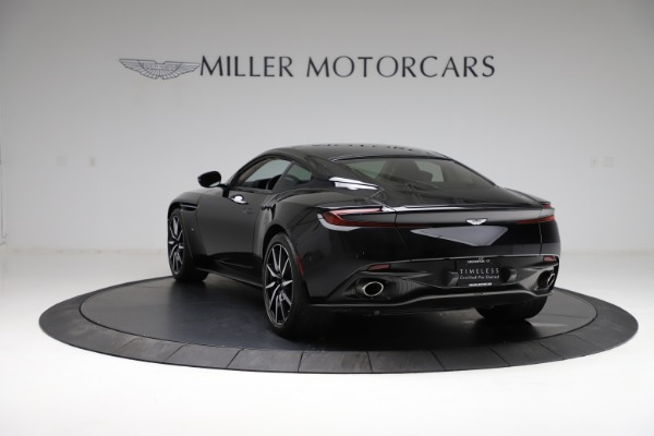Used 2018 Aston Martin DB11 V12 for sale $159,990 at Maserati of Greenwich in Greenwich CT 06830 4