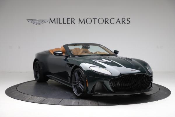 New 2021 Aston Martin DBS Superleggera Volante for sale $392,916 at Maserati of Greenwich in Greenwich CT 06830 10