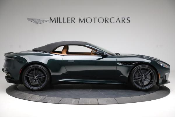 New 2021 Aston Martin DBS Superleggera Volante for sale $392,916 at Maserati of Greenwich in Greenwich CT 06830 15