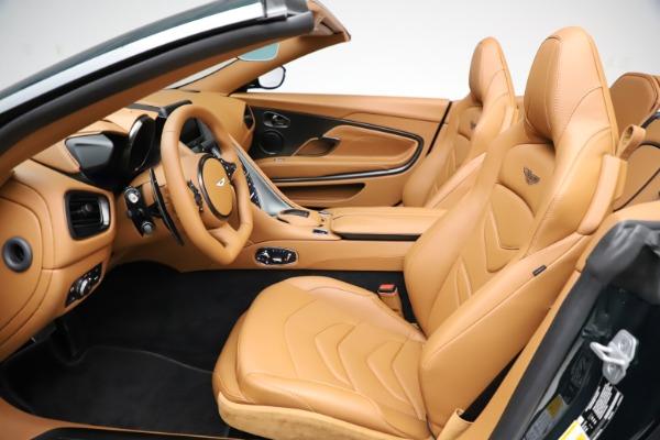 New 2021 Aston Martin DBS Superleggera Volante for sale $392,916 at Maserati of Greenwich in Greenwich CT 06830 18