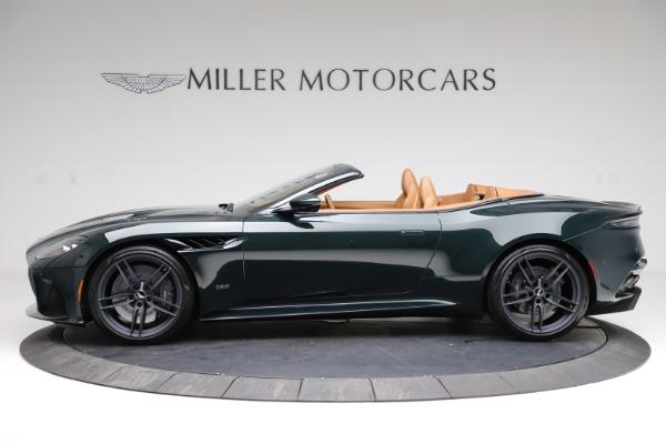 New 2021 Aston Martin DBS Superleggera Volante for sale $392,916 at Maserati of Greenwich in Greenwich CT 06830 2