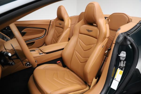 New 2021 Aston Martin DBS Superleggera Volante for sale $392,916 at Maserati of Greenwich in Greenwich CT 06830 20