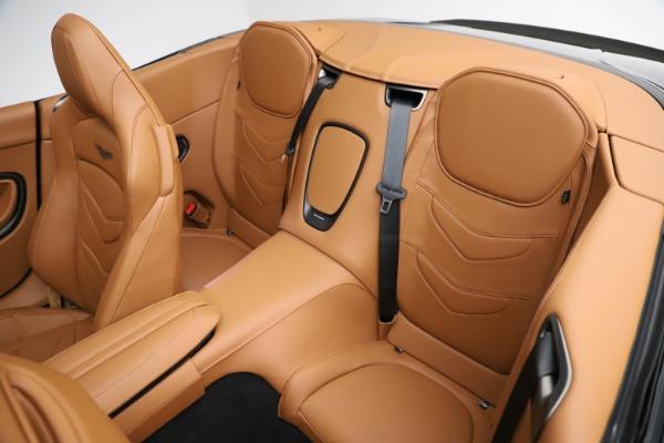 New 2021 Aston Martin DBS Superleggera Volante for sale $392,916 at Maserati of Greenwich in Greenwich CT 06830 21