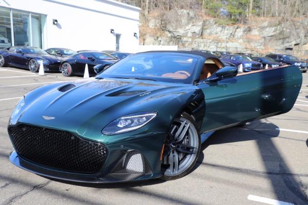 New 2021 Aston Martin DBS Superleggera Volante for sale $392,916 at Maserati of Greenwich in Greenwich CT 06830 26