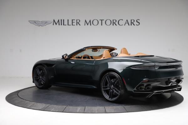 New 2021 Aston Martin DBS Superleggera Volante for sale $392,916 at Maserati of Greenwich in Greenwich CT 06830 3