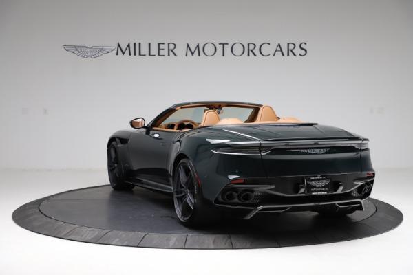 New 2021 Aston Martin DBS Superleggera Volante for sale $392,916 at Maserati of Greenwich in Greenwich CT 06830 4